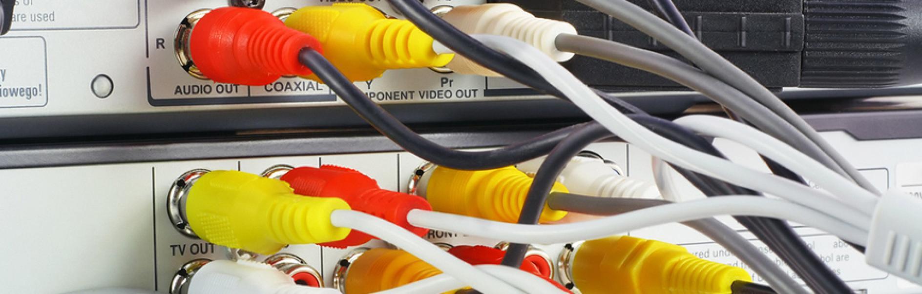 Kabel verstecken | Verstecken von Fernsehkabeln