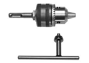 SKIL SDS+-Adapter mit 13-mm-Bohrfutter und Schlüssel