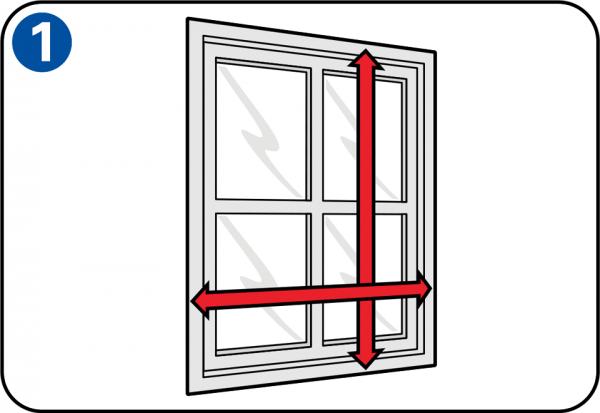 selbst eine fliegengittert r oder ein fliegengitterfenster. Black Bedroom Furniture Sets. Home Design Ideas